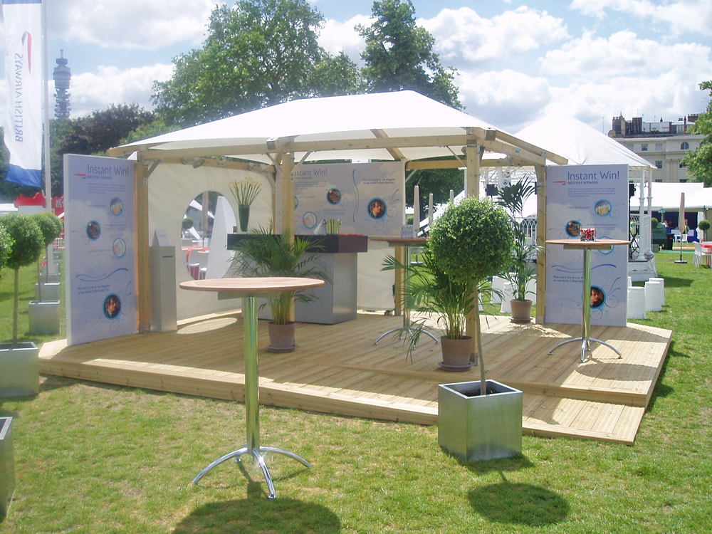 Exhibition Booth Outdoor : Exhibition trade stand white pavilion
